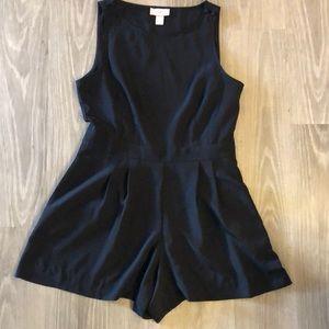 6P Loft Black Jumper Shorts